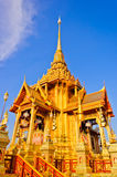 Thai royal crematorium Stock Photos