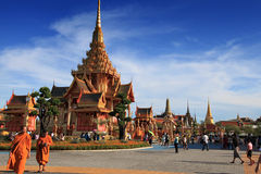 Thai Royal Crematorium Stock Photography