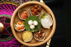 Thai royal cuisine served with jasmine rice Stock Photography