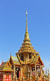 Thai royal funeral in bangkok Thailand Royalty Free Stock Photography