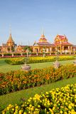 Thai royal funeral and Temple Royalty Free Stock Image
