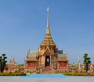 Thai royal funeral and Temple Royalty Free Stock Images