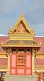Thai royal funeral and Temple in bangkok Royalty Free Stock Photos