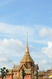 Thai royal funeral and Temple in bangkok thailand Royalty Free Stock Photos