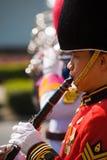 Thai Royal Marching Band Member Stock Photo