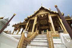 Thai royal palace in bangkok Stock Photo