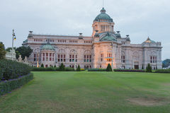 Thai Royal palace Dusit Ananta Samakhom Stock Photos
