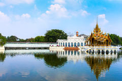 The Thai Royal Residence at Bang Pa-In Royal Palace in Ayutthaya Stock Images