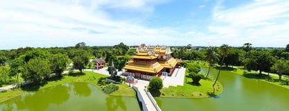 Thai Royal Residence at Bang Pa-In Royal Palace Stock Image