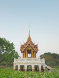 Thai Royal style golden pavilion Royalty Free Stock Image