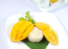 Thai's dessert Mango sticky rice Stock Image