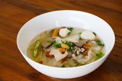 Thai's style noodle Royalty Free Stock Image