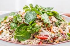 Thai Saba Salad Royalty Free Stock Photo