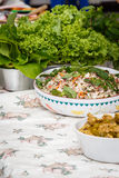 Thai Saba Salad Royalty Free Stock Image