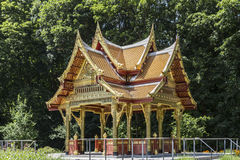 Thai sala temple in Bad Homburg Stock Image