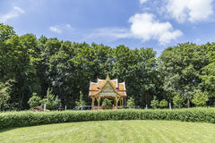 Thai sala temple in Bad Homburg Stock Photos