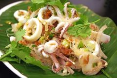 Thai salad Stock Photos