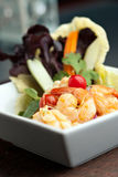 Thai Salad with Seafood Stock Photography