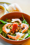 Thai salad with shrimps and vegetables Royalty Free Stock Photos