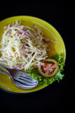 Thai salad Som Tam Stock Images
