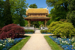 Thai-salo temple. In Bad Homburg, Germany Stock Image