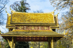 Thai-salo temple in Bad Homburg Royalty Free Stock Photos