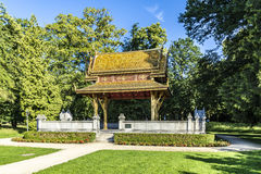 The Thai salo temple in park of Bad Homburg Stock Photography