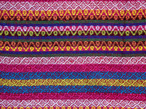 Thai sarong pattern. Stock Photo