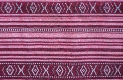 Thai sarong pattern. Stock Photo
