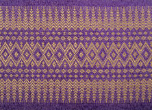 Thai sarong pattern. Royalty Free Stock Images