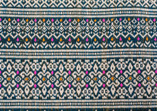 Thai sarong pattern. Royalty Free Stock Photo