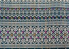 Thai sarong pattern. Royalty Free Stock Photo