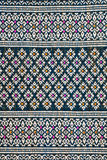 Thai sarong pattern. Stock Photos