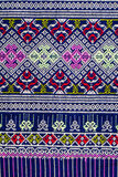 Thai sarong pattern. Royalty Free Stock Photos