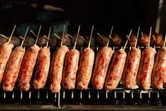 Thai sausage Royalty Free Stock Photo
