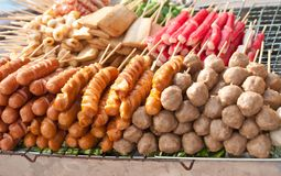 Thai sausage Stock Photography