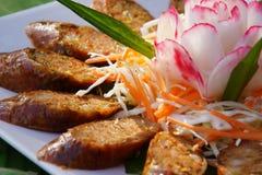 Thai sausage herb Royalty Free Stock Image