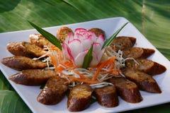 Thai sausage herb Stock Photography