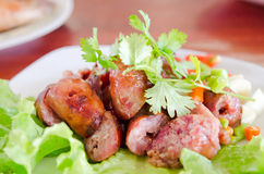 Thai sausage Stock Photography