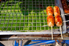 Thai Sausages Royalty Free Stock Image