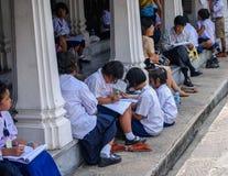 Thai School Children Stock Image
