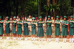 Thai Scouts Royalty Free Stock Image