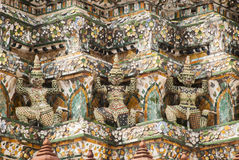 Thai sculpture guardian giant Royalty Free Stock Photos