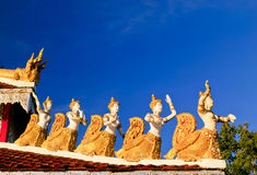 Thai Sculpture. Royalty Free Stock Images