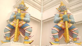 Thai sculpture Stock Photo
