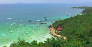 Thai Sea mountains Stock Image