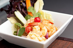 Thai Seafood Salad Royalty Free Stock Images