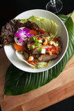 Thai Seafood Som Tum Salad Stock Images