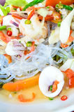 Thai Seafood Spicy Salad. Stock Images