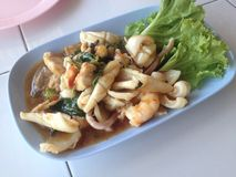Thai seafood Royalty Free Stock Photos
